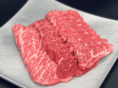 【赤身焼肉・松阪牛】モモ・カタの焼肉用400g