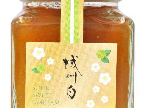 爽やかな朝のスタートに梅のピュアな香りと酸味の効いた【梅ジャム】150g入り。パンにもヨーグルトにも最適。