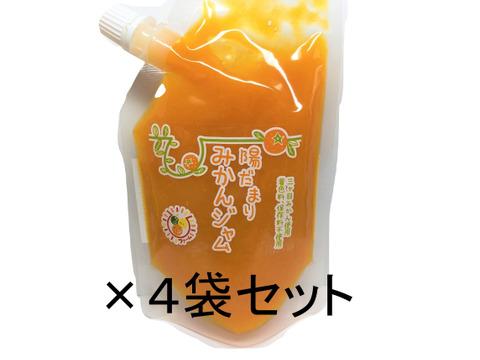 4袋セット 陽だまりファーム 三ヶ日みかん ジャム 無添加 ペクチンなし 甜菜糖使用( 180g ×4袋)