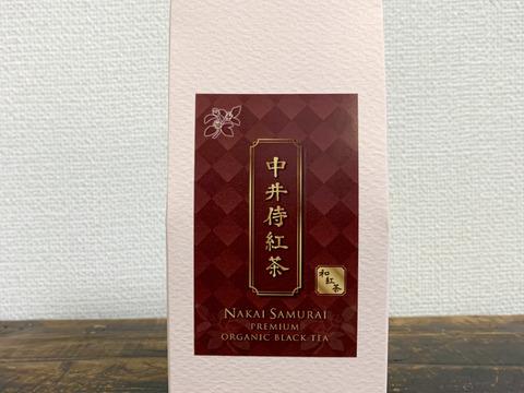 中井侍紅茶 (品種:かなやみどり) 40g