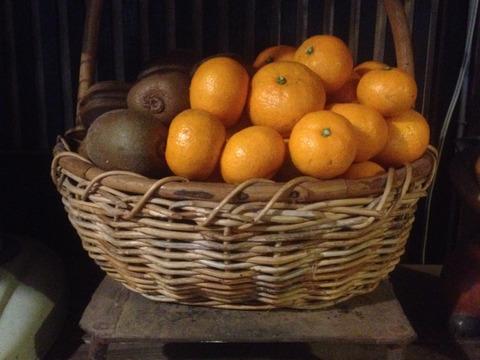 旬の果物セット(キウイ:2kg+温州みかん:3kg)