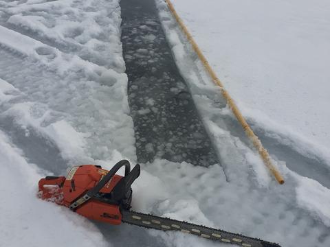氷下~湖白牡蠣 1年剥き身500g×2(1㎏)