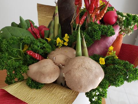 【母の日ギフト】旬の京野菜ブーケ❗