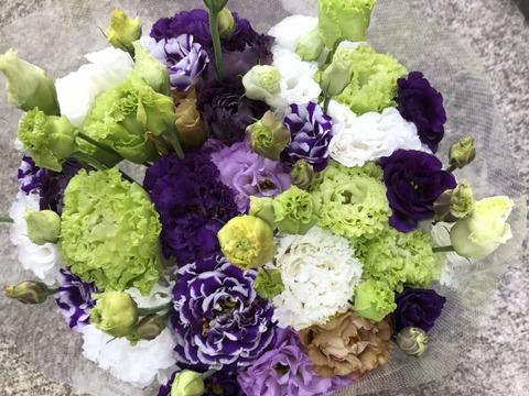 【シーズン終了間近】【父の日】お父さんも花が好き!朝切り!長持ち!トルコギキョウ20輪