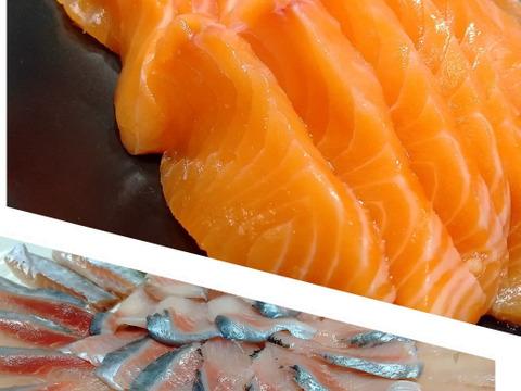 【お試し限定価格】刺身で美味しい鮮魚3種セット(サクラマス入り)/3パック(急速冷凍)