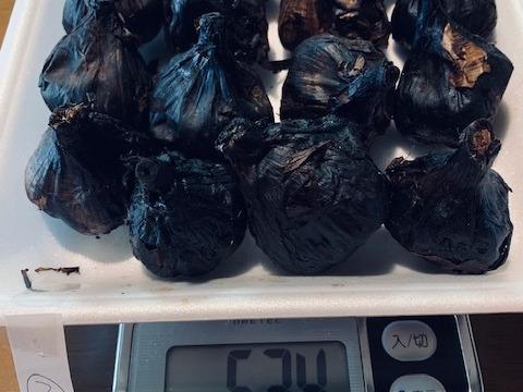 自然栽培 黒にんにく 訳アリ特価560g