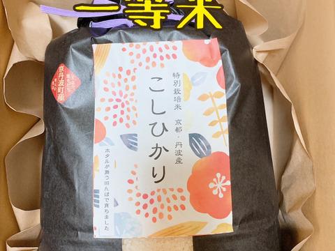京都丹波産特別栽培 コシヒカリ一等米5キロ