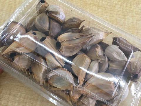 【農薬不使用】黒にんにく バラ 200g 乳酸菌栽培