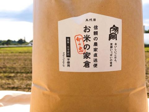 """【新米ご予約】【玄米】""""農薬も肥料もサヨナラ米"""" 艶モチ!絶品 ミルキークイーン 5kg( 玄米) 令和3年産です!"""