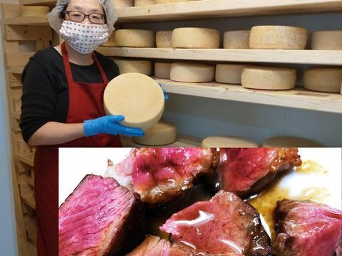 【テレビ東京で紹介!】 流通量ほぼ0% 笑) 羊肉400gと 羊乳チーズ、ヨーグルトの石狩セット(北海道産)