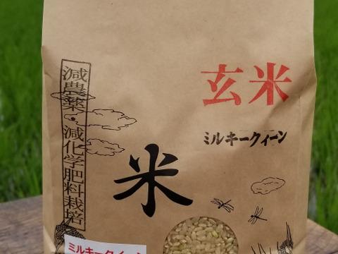 令和2年産 特別栽培米ミルキークイーン 玄米2kg
