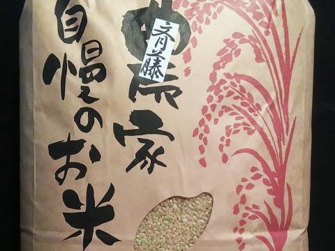 「斎藤家自慢のお米」玄米10キロ