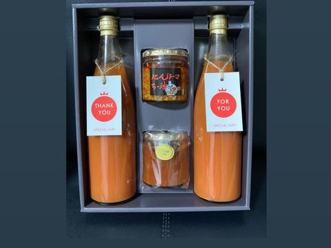 『夏ギフト』リピーター続出トマトジュースと新聞で紹介された新商品と定番商品を味わえる満喫セット