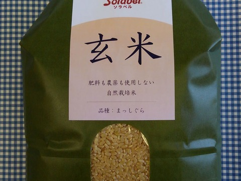 自然栽培♡玄米:3kg