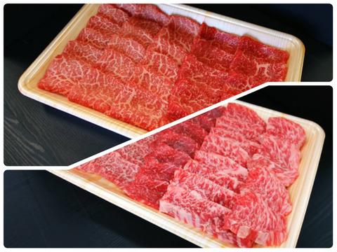 《New!!》さつま福永牛A5ランク黒毛和牛焼肉ファミリーセット【カルビ・赤身・ホルモン】(4~5人前)