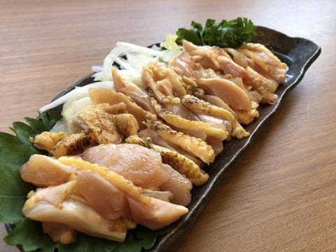 ☆希少部位 ふりそでトロ刺し さつま極鶏大摩桜(冷凍)【単品】