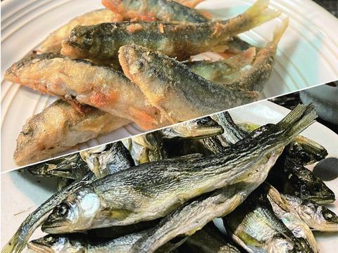 【新商品の食べ比べセット】紀州稚鮎『うまみ揚げ』と『うまみ干し』の稚鮎コレクションセットです。