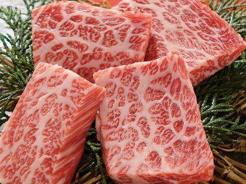 【ワンランク上の焼肉セット】あか牛甲誠牛焼肉食べ比べ(特撰三角カルビ・ロース)
