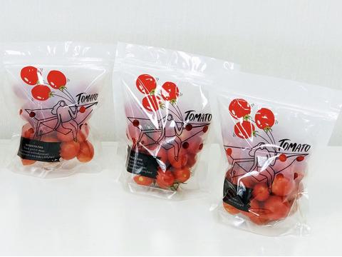 高糖度「ほれトマト」200g*3袋 太陽の恵みをたっぷりもらった糖度10度以上の極上ミニトマト