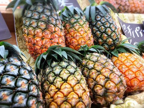 減農薬パイナップル(ピーチパイン) 小玉 6個セット