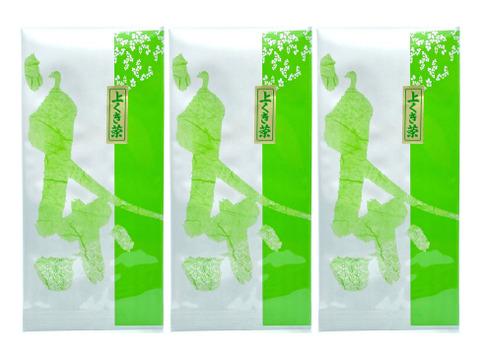 2021新茶[メール便] 3袋×上くき茶(100g) 甘く香ばしいお茶 / 狭山茶