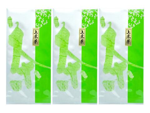 [メール便] 3袋×上煎茶 (100g)  気軽に淹れても美味しいお茶 / 狭山茶
