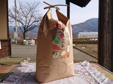 【農薬化学肥料不使用】くりのみの玄米(5kg)