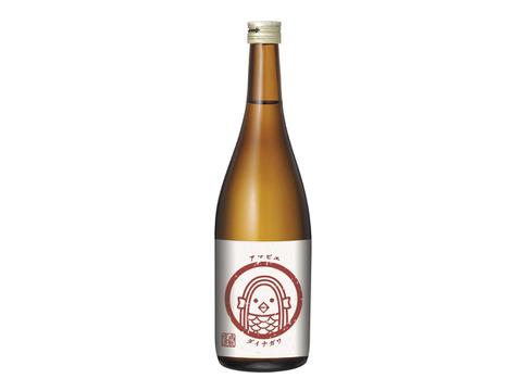 【新聞・ネットで話題のお酒】疫病退散!! アマビエラベル 大納川純米720ml 華やかな香りと切れ味抜群の純米酒