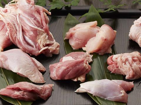 【超速フレッシュ‼】安曇野産寿地鶏上もも5種の希少部位セット!500g前後