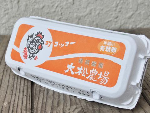 お試しセット ①「平飼い有精卵」【10個×2パック】+②「大松マヨネーズ」【1本】