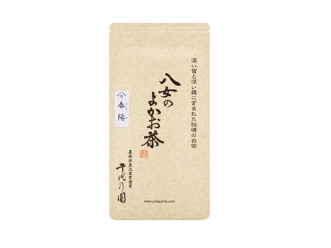 八女煎茶と白折:春陽100g×3袋、白折(月)100g×3個(レターパック)