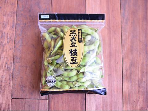 3週間だけ限定【500g×4袋 2kg】丹波篠山産黒枝豆セット