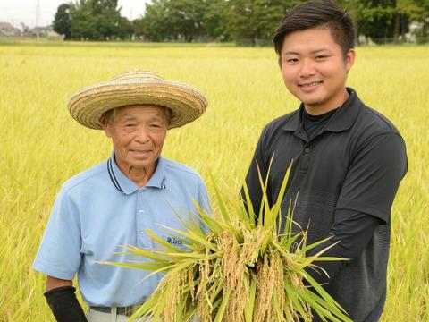 農業歴60年越えのベテランが作ったコシヒカリ【玄米】5kg