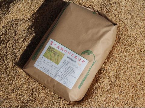 400年農家のひとめぼれ(玄米)5kg農薬・化学肥料不使用