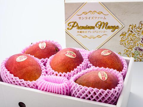 『夏ギフト』【順次発送中】サンライズファームのアップルマンゴー 【優品】【2kg】