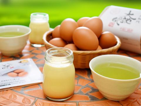 【初回限定BOX】平飼い有精卵『大地の卵』100%使用したプリン&フィナンシェ