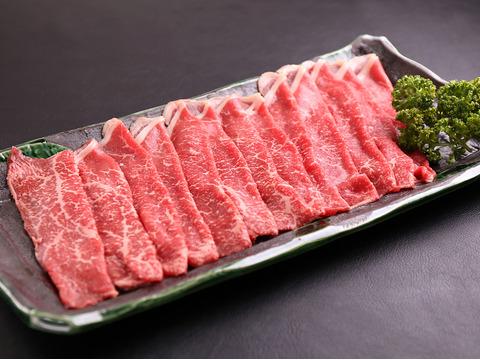 【すき焼•焼しゃぶ用 赤身肉】最高級A5ランク佐賀牛 (500g)