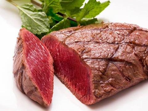 【600g】最高級部位 柔らかな上質な赤身【牛フィレ?馬肉?】【ダチョウ肉フィレ】