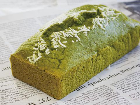 【母の日ギフトにいかがですか?】グルテンフリー!ココナッツ、米粉と自社農場の新鮮なクレソンで作ったフワフワなパウンドケーキ