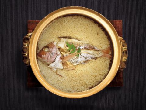 お祝いやお家でご馳走。桜鯛で簡単鯛めしセット(2合用)