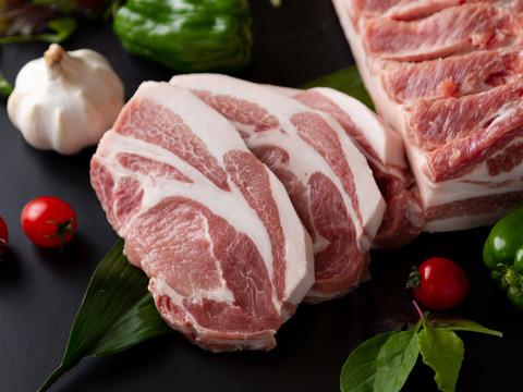 《だいじょ豚》 ロースブロック 500gステーキや低温調理に最適