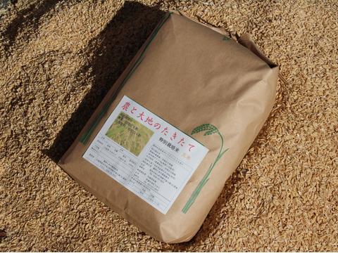 希少品種  たきたて(玄米)5kg農薬・化学肥料不使用
