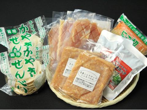 【冬ギフト】青森シャモロックせんべい汁セット