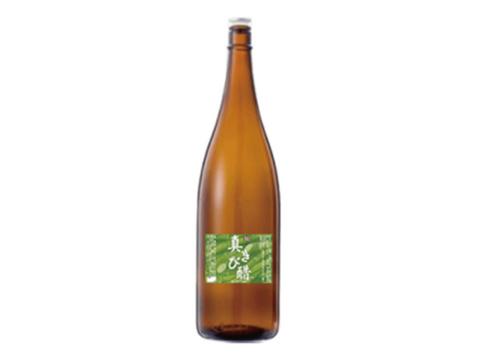 6年以上熟成 奄美の伝統発酵食品『真きび酢』一升瓶(1,800ml)【おすすめの飲み方付き】