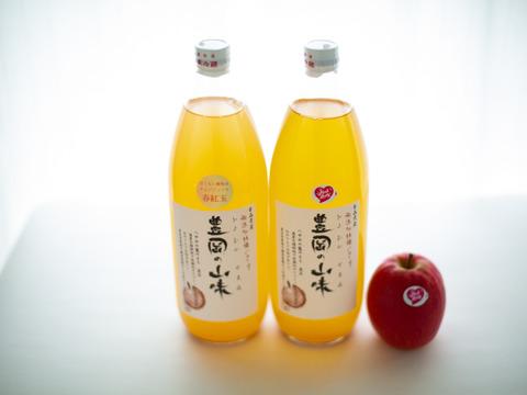 すっぱい!酸味強めのりんごジュース2本セット