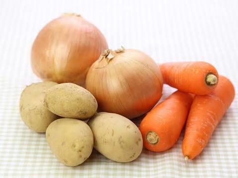 ☆畑直送☆【特選!カレーライス(肉じゃが)セット)5〜6人分】無農薬野菜