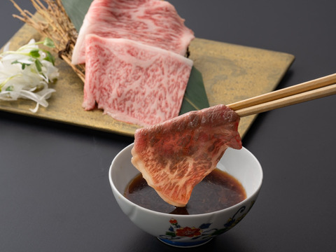 【しゃぶしゃぶ用 サーロイン】最高級A5ランク佐賀牛 (500g)