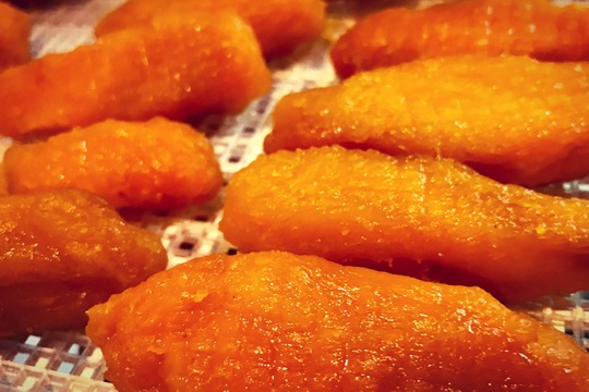 蜜蜜しい安納芋の丸干しいも「いもきらん」