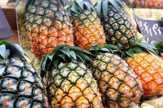 減農薬パイナップル(ピーチパイン) 小玉 6個セット【6月出荷開始予定】