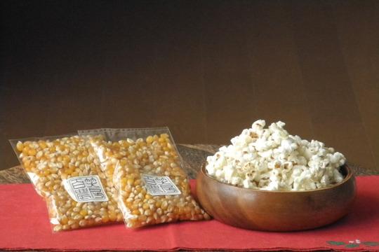 【お家で楽しくポップコーン作り】信州佐久産ポップコーン豆100g×5袋